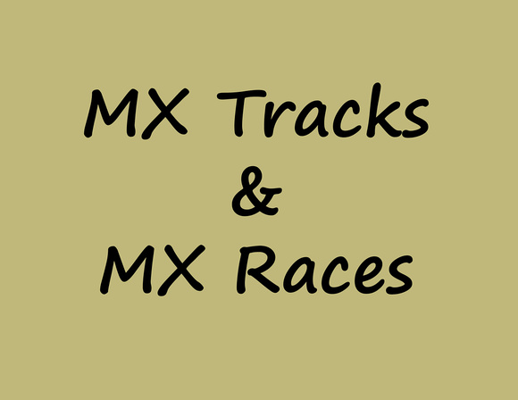MX Practice & Race